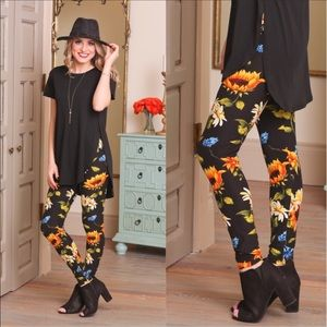 New Sunflower Leggings